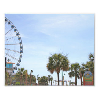 Myrtle Beach South Carollina, Skywheel Photo Print