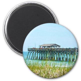 Myrtle Beach State Park Fisdhing Pier Magnet