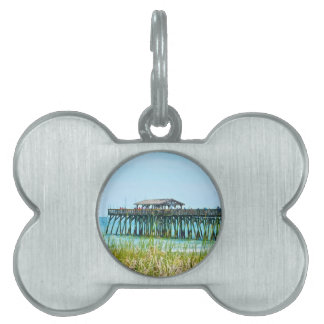 Myrtle Beach State Park Fisdhing Pier Pet ID Tag