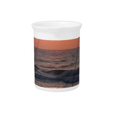 Beach Themed Myrtle Beach Sunrise Beverage Pitcher