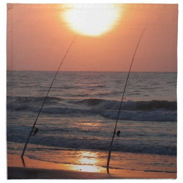 Beach Themed Myrtle Beach Sunrise Napkin