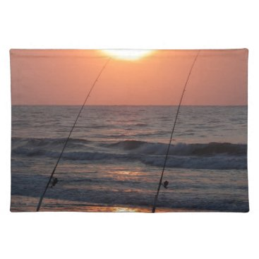 Beach Themed Myrtle Beach Sunrise Placemat