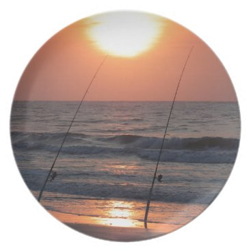 Beach Themed Myrtle Beach Sunrise Plate