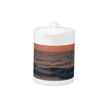 Beach Themed Myrtle Beach Sunrise Teapot