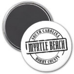 Myrtle Beach Title Fridge Magnet