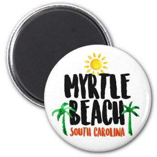 Myrtle Beach Watercolor Magnet