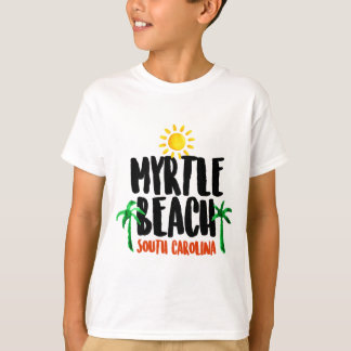 Myrtle Beach Watercolor T Shirt