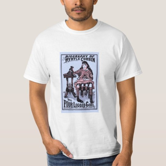 Myrtle Corbin the Four Legged Girl T-Shirt