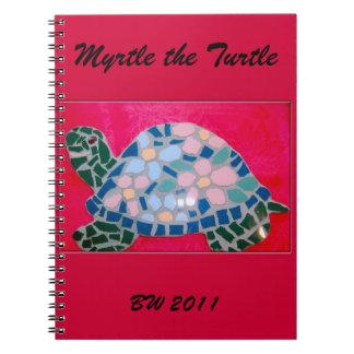 Myrtle el cuaderno de la tortuga