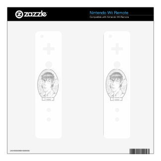 """Myrtle Mae and the Mirror in the Attic, """"Seamus"""" Nintendo Wii Remote Skins"""