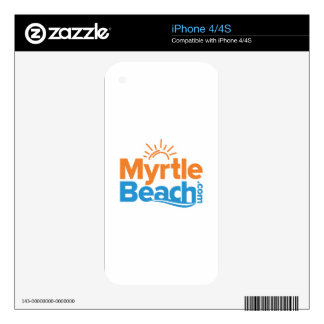 MyrtleBeach.com Logo Decal For The iPhone 4S
