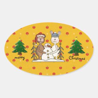 mys Christmas Tree sticker