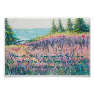 Mys Day Dream Psalm 149:1 poster