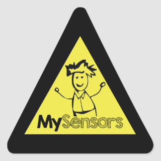 MySensors - Build your own sensors Triangle Sticker