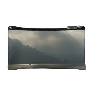 Myserious Stormy Skies by the Lake Makeup Bag
