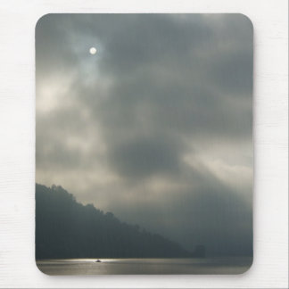 Myserious Stormy Skies by the Lake Mouse Pad