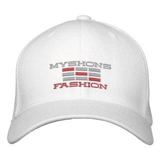 MYSHON NEW URBAN FASHION LINE UP EMBROIDERED BASEBALL CAP