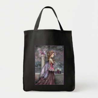 Mysitc Fairy Dragon Tote Bag by Molly Harrison
