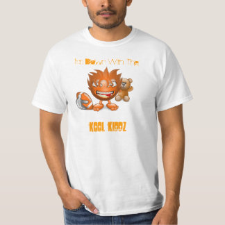 mysmiley, I'm Down With The, Kool KiDDz T-Shirt