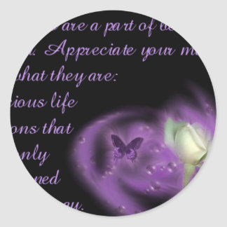 myspace_love_quotes182 classic round sticker