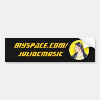 Myspace Promo Bumper Sticker