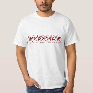 myspace: The  final frontier T Shirt