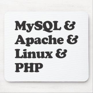 Mysql Apache Linux PHP Mouse Pad