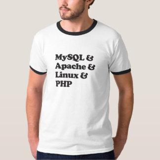 Mysql Apache Linux PHP T-Shirt