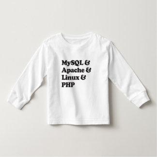 Mysql Apache Linux PHP Toddler T-shirt