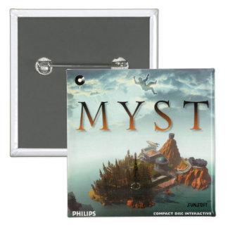 Myst 1 pinback button