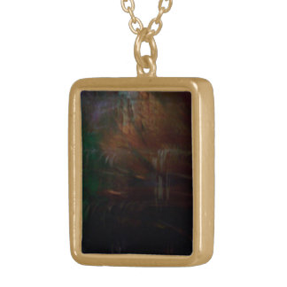 Mysteries Within Gold Plated Necklace