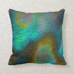 Mysterious Abalone Throw Pillows