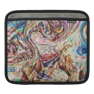 Mysterious Abstract Swirls Sleeve For iPads