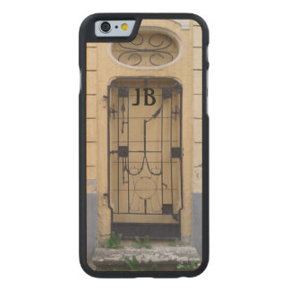 Mysterious Antique Iron Gate Customizable Carved® Maple iPhone 6 Slim Case