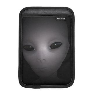 Mysterious black Alien Sleeve For iPad Mini