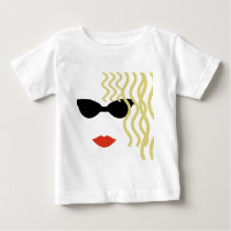 Mysterious Blond Baby T-Shirt
