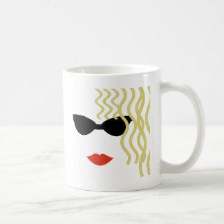 Mysterious Blond Coffee Mug