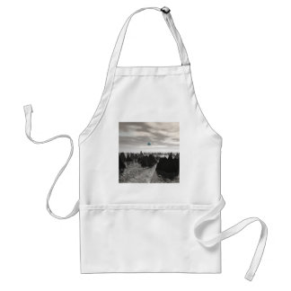 Mysterious Blue Orbs Adult Apron