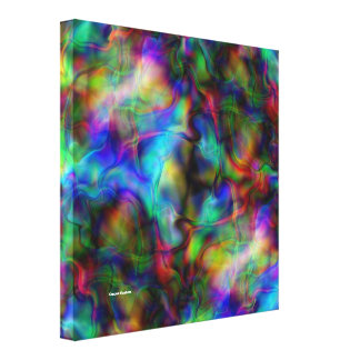 Mysterious Stretched Canvas Print