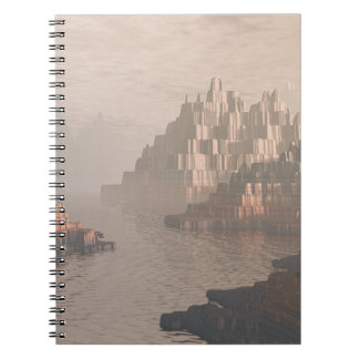 Mysterious Canyon River Notebook