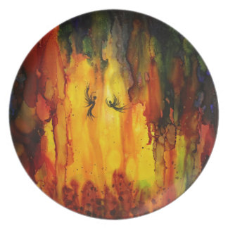 Mysterious Cave Dinner Plate