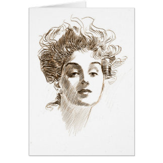 Mysterious Expression 1882 Card
