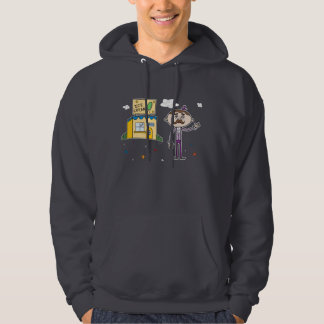 Mysterious Ice Cream Shop - Hooded Sweatshirt
