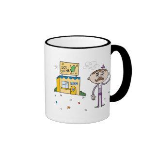 Mysterious Ice Cream Shop - Ringer Mug