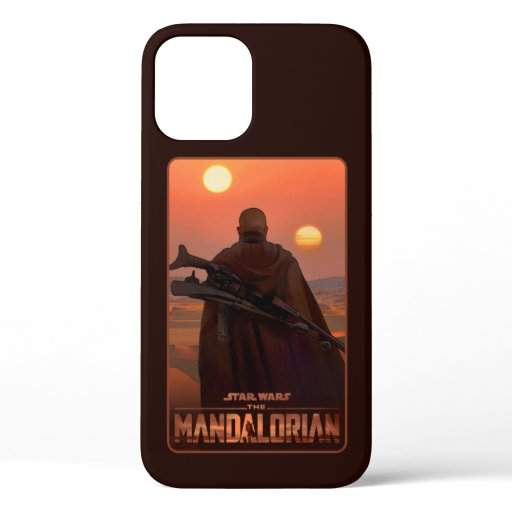 Mysterious Man Concept Art iPhone 12 Case