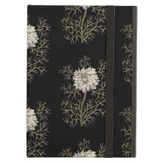 Mysterious Medieval Flower Pattern iPad Air Case