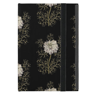 Mysterious Medieval Flower Pattern iPad Mini Cover