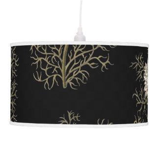 Mysterious Medieval Flower Pattern Pendant Lamp