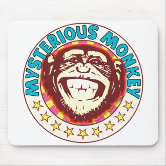Mysterious Monkey Mouse Pad