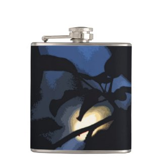 Mysterious Moon Hip Flask